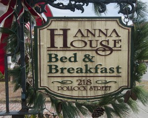 Hannah House Sign New Bern NC